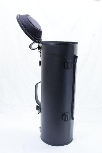 Single Outlaw Loredo Black Leather Trumpet Case
